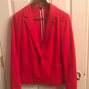 Light red suit jacket from Express. Size M